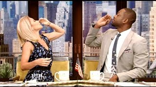 Dwyane Wade Co-Hosts #LiveWithKelly - Explains Decision To Leave The Heat!