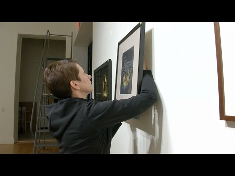 How to Install an Art Exhibit