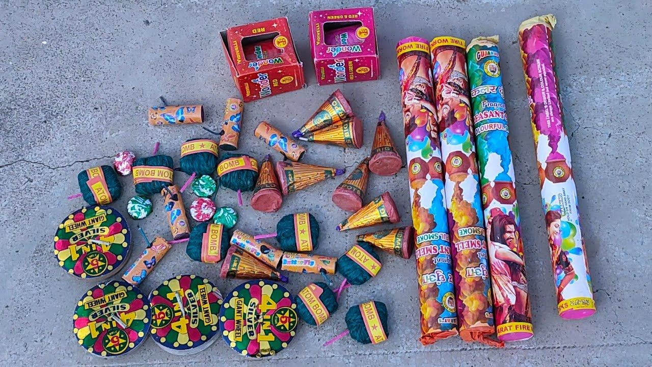7 Different & Unique Type of Crackers Testing || crackers experiment in hindi ||