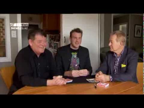 Auckland Magician Mick Peck TV3 News Interview 2013