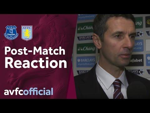 Everton 4-0 Aston Villa post-match reaction