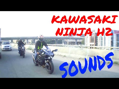 Ninja H2 in Bangalore with Load Exhaust sound ! Must watch