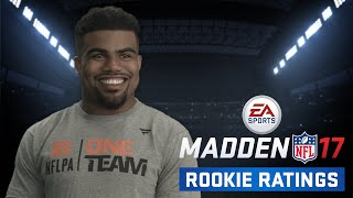 vuclip NFL Rookies React to Madden 17 Ratings