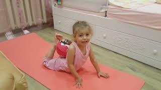 Урок первый, зарядка для детей 3-4 лет, от Лизы Ивановой.