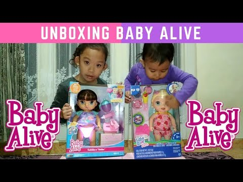 Baby Alive Dolls Unboxing Twinkles N' Tinkles & Super Snacks Snackin Lili  || Episode 9