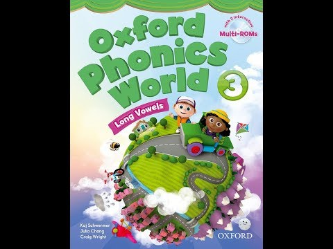 Oxford Phonics World 3 CD1 English for kids