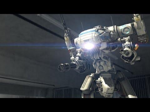 Police Robot ENFORCER - SciFi Short Film