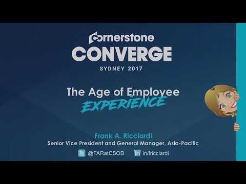 "#ConvergeSydney: ""The Age of Employee Experience"""