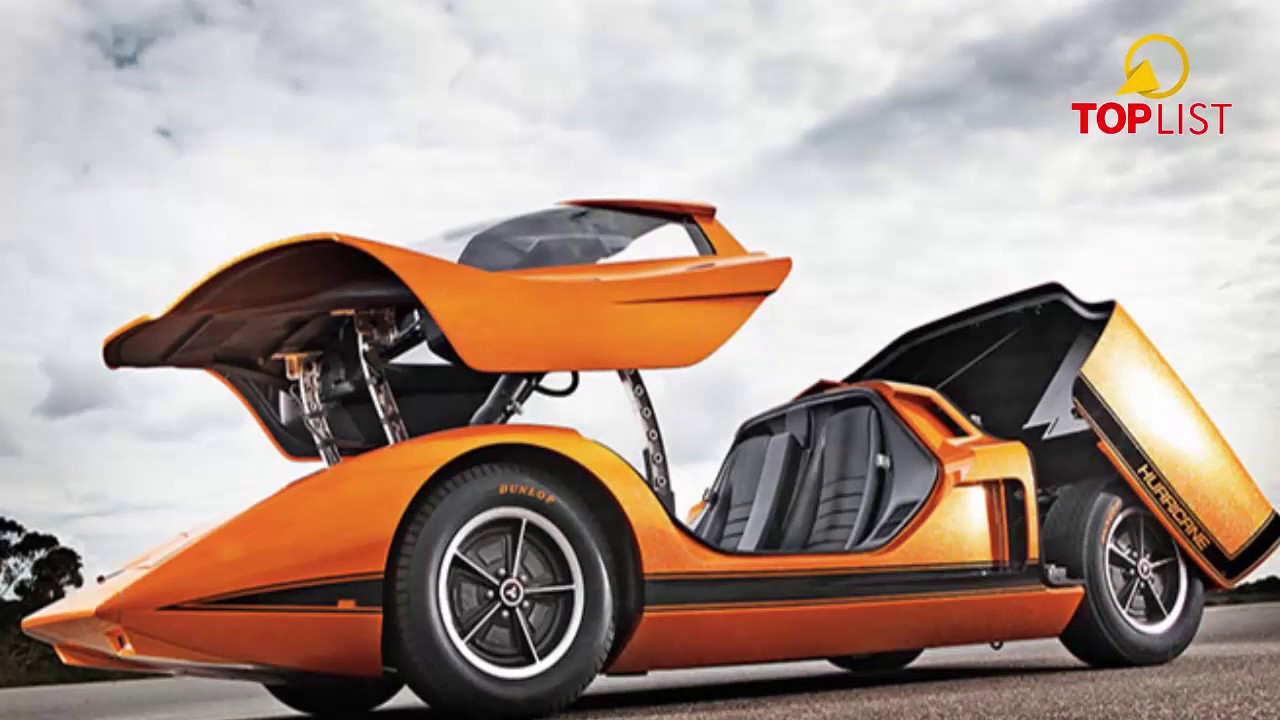 Holden Hurricane V8 engine - Top List 12 coolest cars you will never drive - part 1