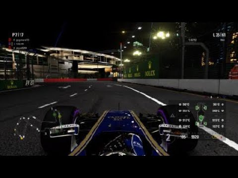 F1™ 2017_MGT Cup Rd.11 シンガポール 決勝1