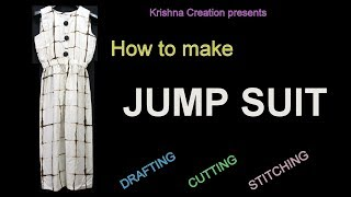 How to make JUMP SUIT