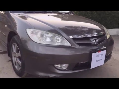 Honda Civic 2004 2007 Vti Oriel In Depth Review Of Exterior And Interior  (Pakistan)   YouTube