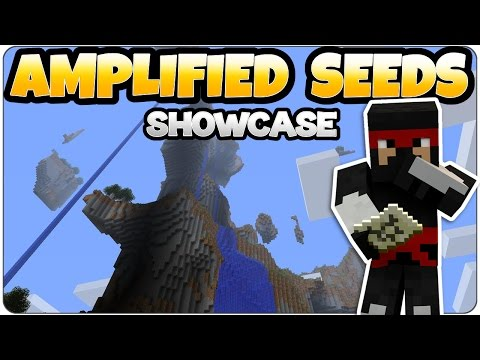 Minecraft Amplified Seed Showcase/ Review TU46 - PS4 & Xbox One Edition
