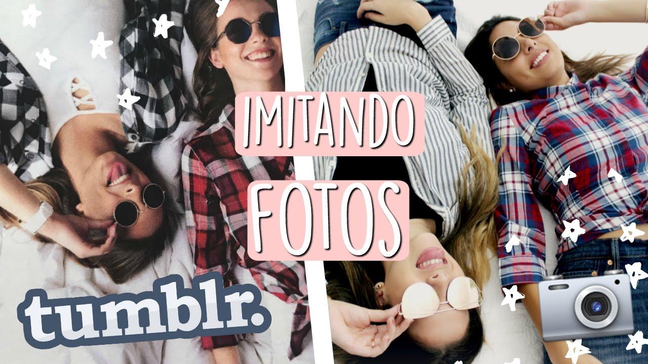 IMITANDO FOTOS TUMBLR 😱!! ft Paloma Constanza | Valeria Basurco