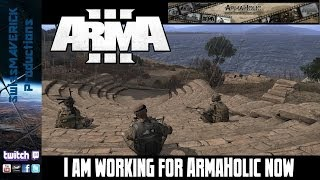 I`m working for ArmaHolic now! [NEWS]