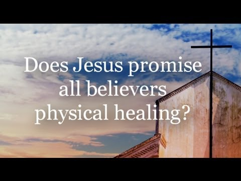 Cross Examination TV discusses Physical Healing