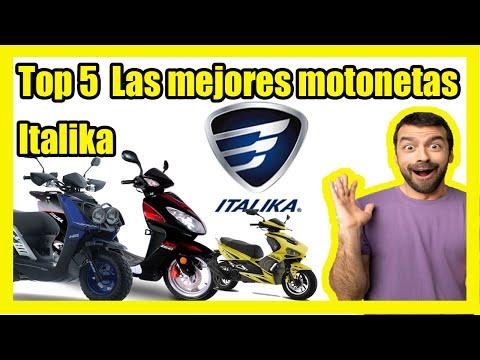TOP 5 LAS MEJORES MOTONETAS DE ITALIKA 2020