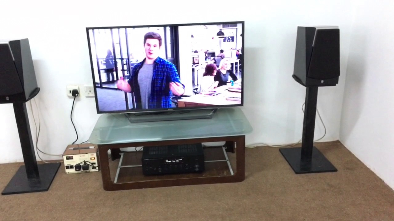 yamaha r n602 and yamaha soavo 2 sound test youtube. Black Bedroom Furniture Sets. Home Design Ideas