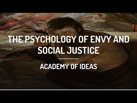 The Psychology of Envy and Social Justice