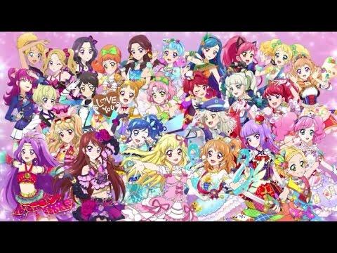 28 Nama Nama Karakter di Anime Aikatsu  YouTube