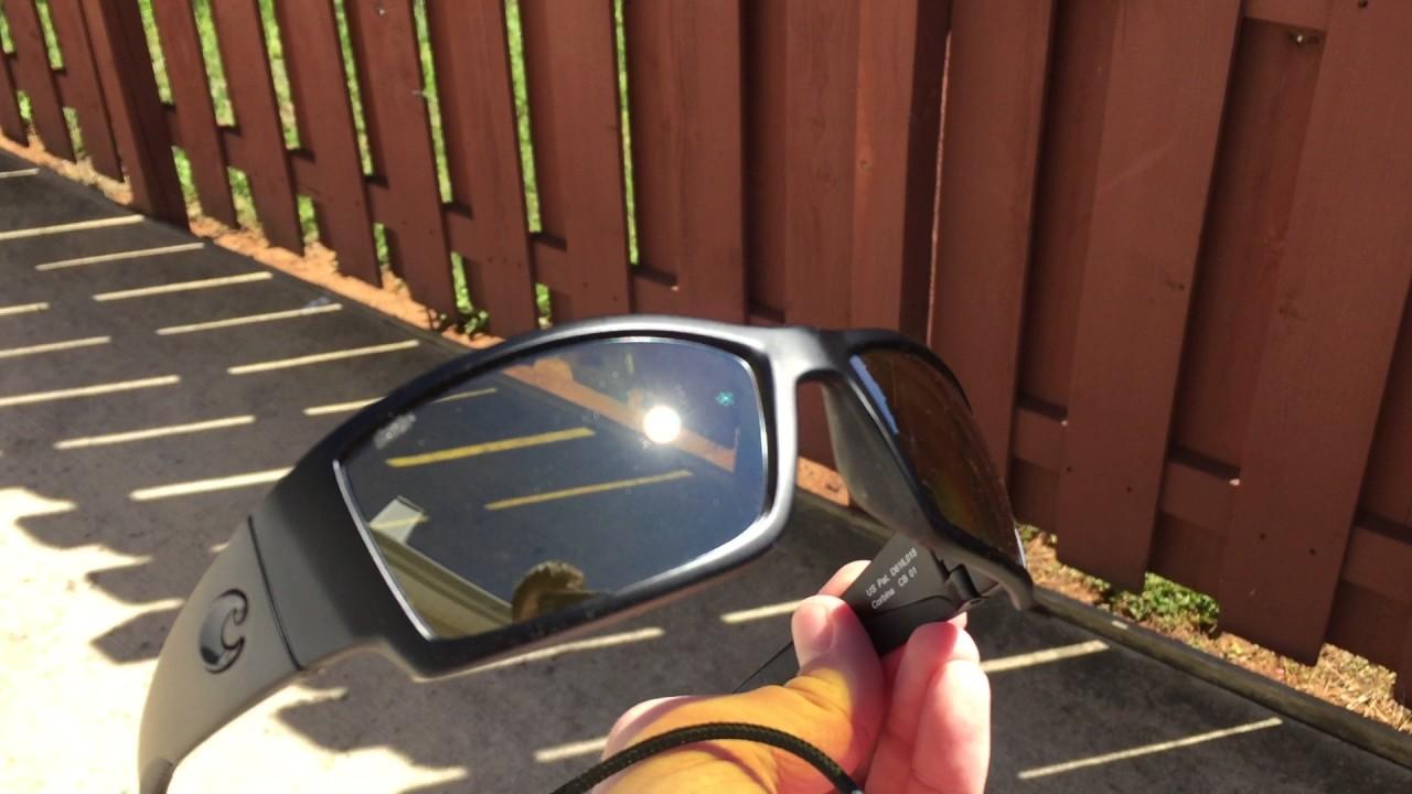 1076769039b88 Costa Del Mar sunrise silver mirror lenses in corbina frame - YouTube