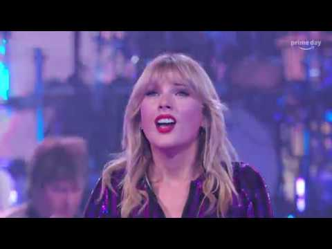 """Taylor Swift """"Love Story"""" At The Prime Day Concert"""