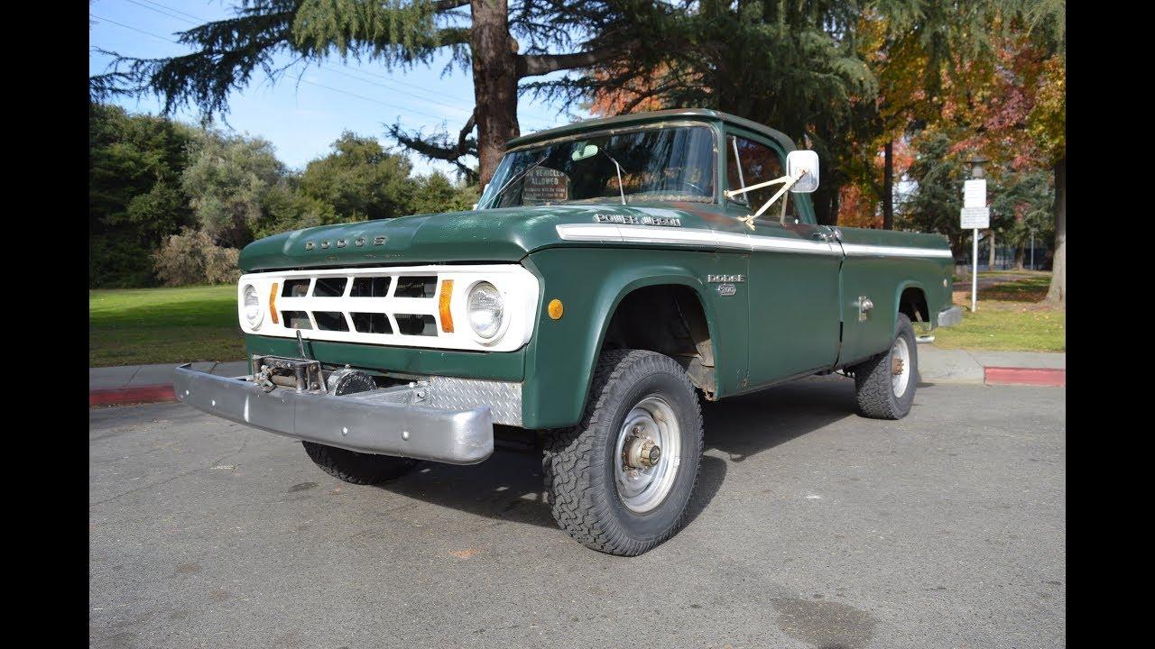 1968 Dodge Power Wagon AM4136 Sold at American Motors Custom & Classics