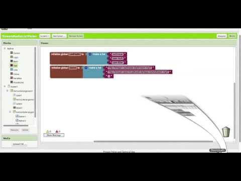 App Inventor 2 Tutorial RadioStream mit ListPicker HD