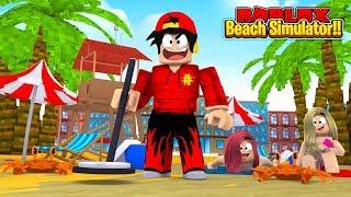 ROBLOX - THE BEACH SIMULATOR!!