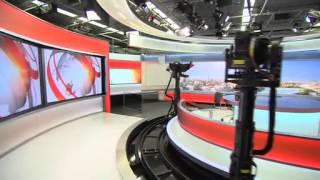 GUIDED TOUR OF NEW HOME FOR BBC WORLD NEWS