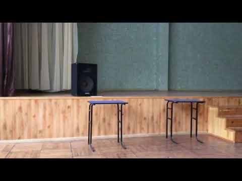 Выступление 8-А на 14 февраля. Медленный танец. Медляк. Танец Баста - Выпускной