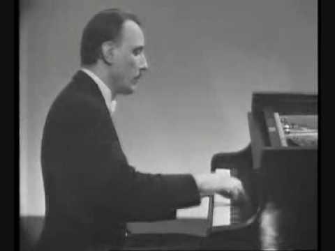 Michelangeli plays Galuppi (I movement)