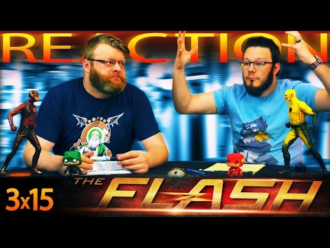 "The Flash 3x15 REACTION!! ""The Wrath of Savitar"""