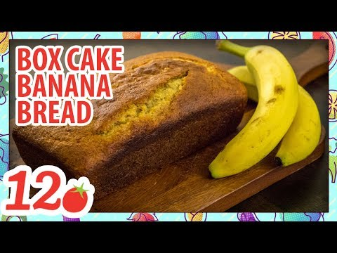 How To Make: Box Mix Banana Bread