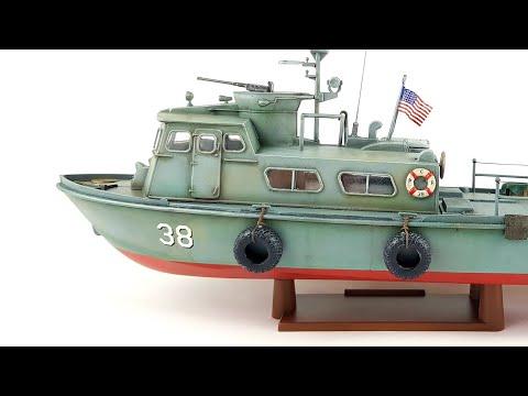 1:48 US Navy Swift Boat RevellTime Lapse Build Video