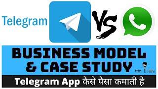 Telegram Business Model Telegram Vs Whatsapp How Telegram Makes Money Hindi Youtube