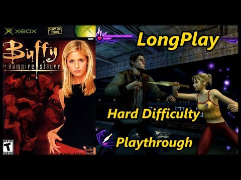 Buffy The Vampire Slayer - Longplay Hard Difficulty Full Game (Xbox) Walkthrough (No Commentary)