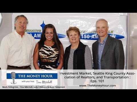 Tina Mitchell :: The Money Hour Show - Investment Market, Seattle King County Association