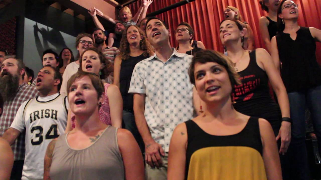"""Flash Chorus sings """"Light and Day"""" by The Polyphonic Spree ..."""