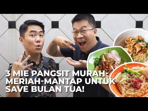 3 Mie Pangsit Medan yang MURAH di bawah 15 Ribu dijamin KENYANG BEGO!