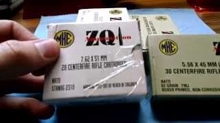 walmart ammo sale zq1 mke 5 56x45 and 7 62x51 nato