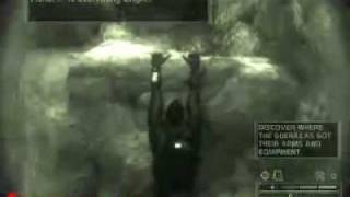 Splinter Cell Chaos Theory Speed Run Mission 1 Lighthouse