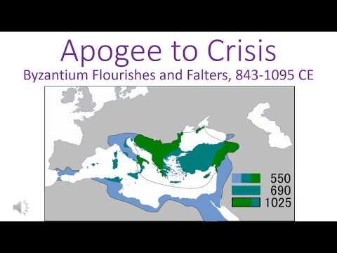 Byzantium, 843-1095 CE: Development, Apogee, Crisis, Crusade