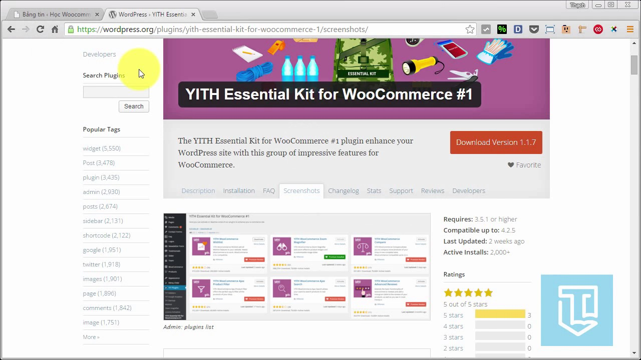 Học WooCommerce 30 YITH Essential Kit for WooCommerce #1