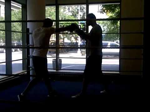 Boxing at Gotham Gym