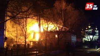 Офисное здание и жилой дом подожгли в минувшие выходные в Череповце