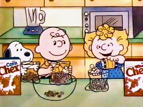Charlie Brown Chex Mix Commercial (1991)