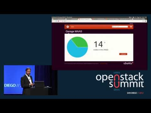 OpenStack Summit Fall 2012 Keynotes: Mark Shuttleworth