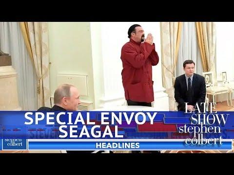 Exclusive : Steven Seagal's Special Envoy