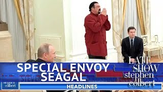 Exclusive Trailer: Steven Seagal's Special Envoy